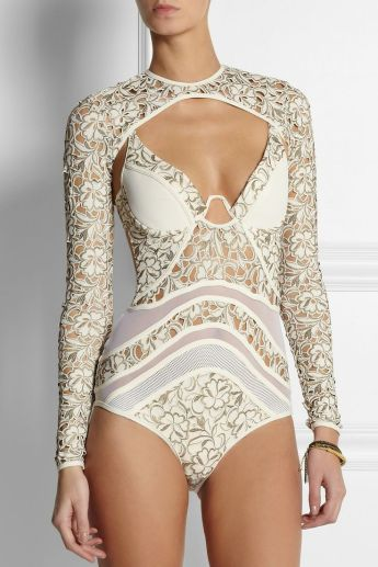 zimmerman embroidered swimsuit cover up found on net-a-porter