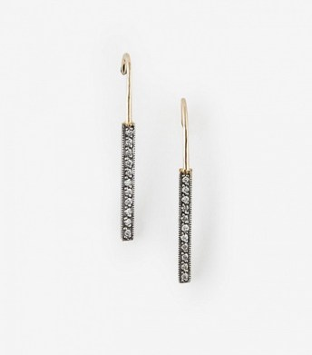 bianca monros gomez diamond bar earrings