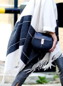 fringe details on poncho