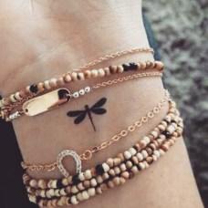on the wrist