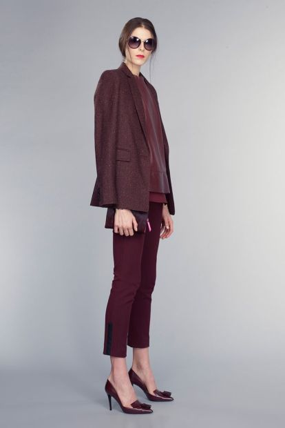 banana republic burgundy suit