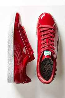 puma patent sneakers