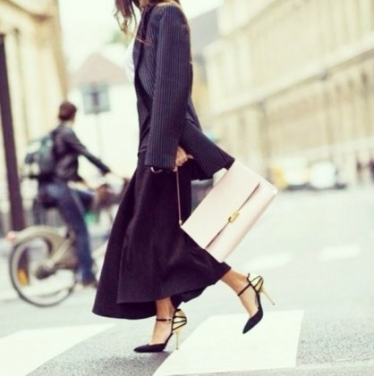 stella mccartney blazer and heels that don't hurt
