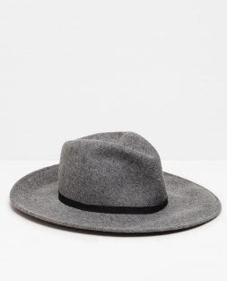wide brim hat zara