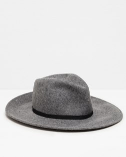 wide brim hat zara