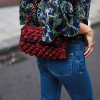 Passionate burgundy bags