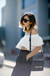 ff the shoulder blouse