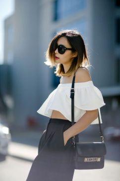 ff the shoulder blouse