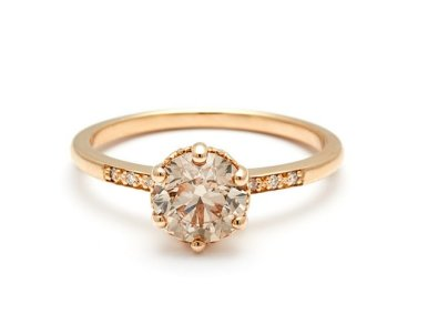 anna sheffield hazeline solitaire ring