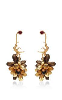 micro monkey drom earrings marc alary