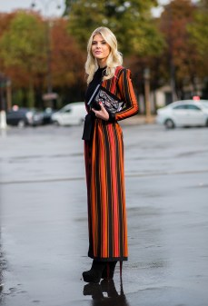 orangte stripes