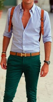 Plaid-shirt-for-men