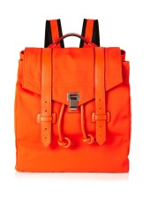 proenza schouler psi leather trim nylon backpack