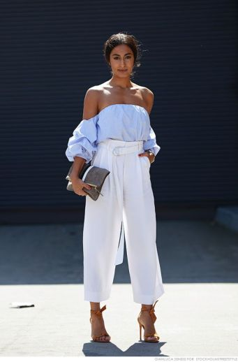 off the shoulder style