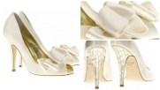 Freya-Rose peep toes in ivory