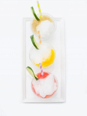 fruity frozen margaritas