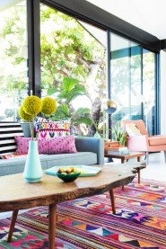 punchy colors and dun stipes
