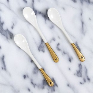 spoons that shimmer