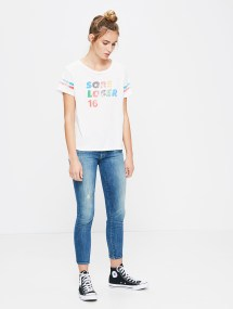 boxy goodie sore loser tshirt mother denim