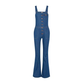 overalls with button details