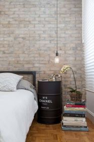 INDUSTRIAL TOUCH BEDROOM