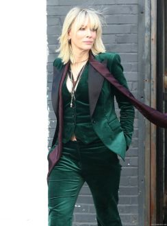 Blanchett in green