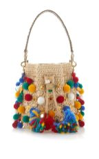 pom pom bucket bag by dolce gabbana