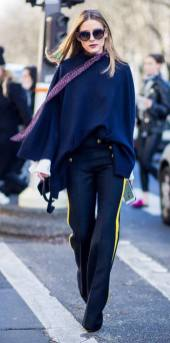 olivia palermo cape button jeans