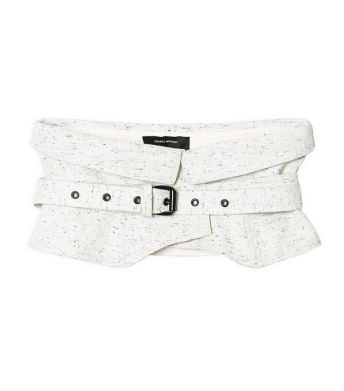 isabel marant cotton wrap belt