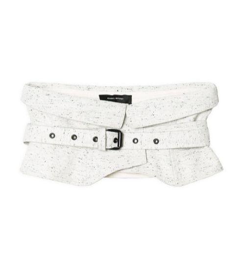 isabel marant cotton wrap belt