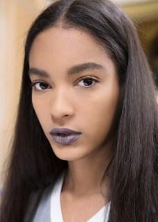 gray lips