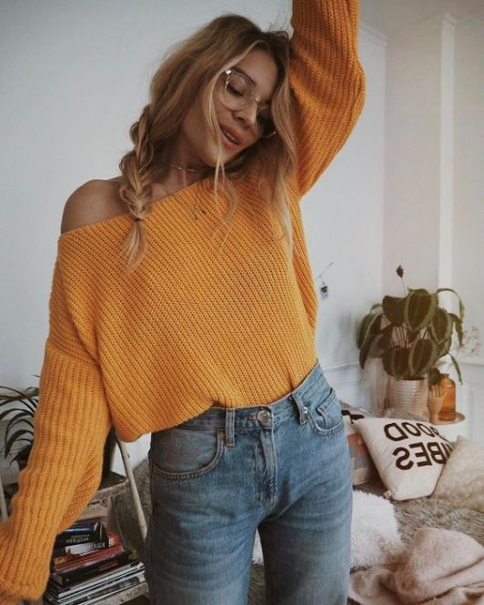 pff the shoulder sweaters
