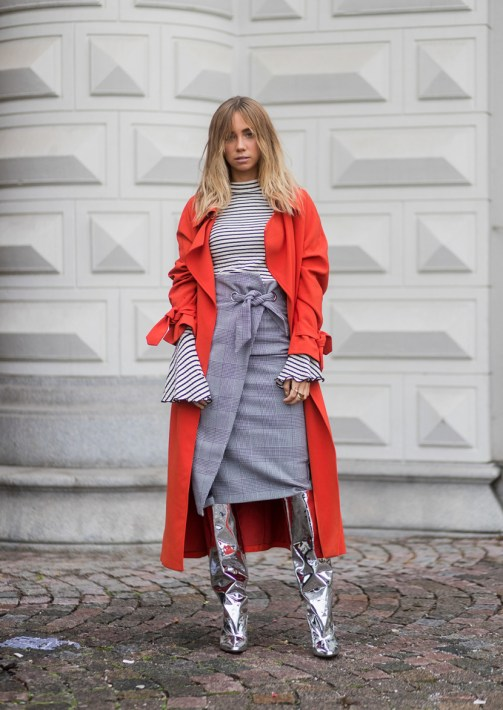 red and silver style