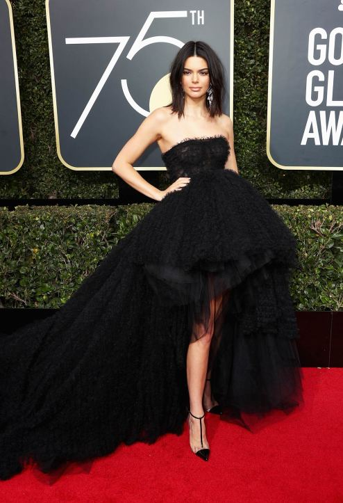 kendall-jenner-2018-golden-globe-awards giambattista valli