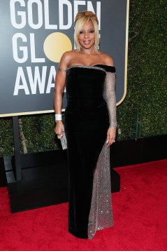 mary-j-blidge-2018-golden-globe-awards alberta ferretti