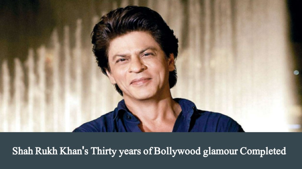 Bollywood King Shah Rukh Khan's 30 years of glamour
