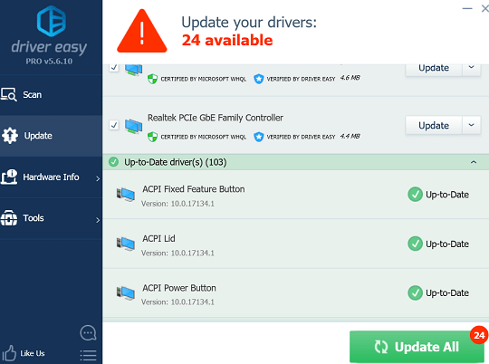 Driver Easy Pro Key 2020 License Free Download for 1Year