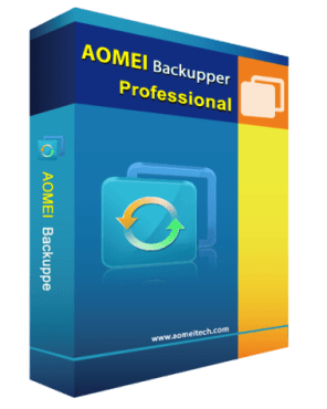 Aomei Backupper Professional License Key 2019 for Free 1 Year