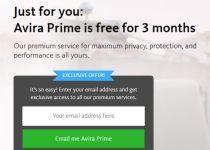Avira Prime Serial Key 2019 Free for 3 Months
