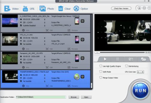 WinX HD Video Converter Deluxe Serial 2020 Key Free Download Windows/Mac
