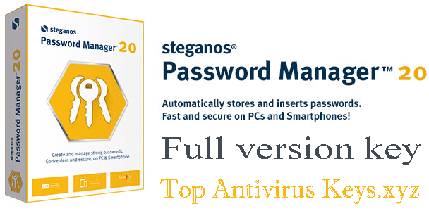 Steganos Password Manager 20 License Key Free