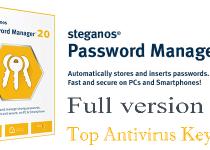 Steganos Password Manager 20 License Key Free