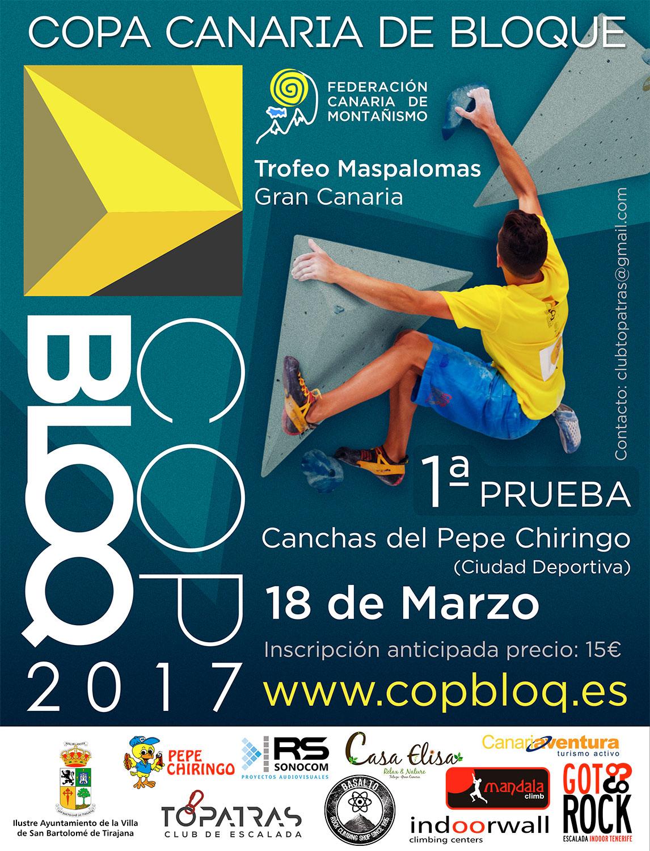 1ª PRUEBA COPBLOQ Copa Canaria de Bloque