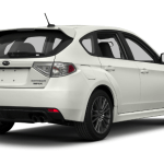 2015 Subaru Impreza Sport White