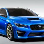 2015 Subaru WRX Blue