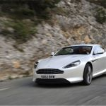 2015 Aston Martin DB9 Morning Frost Wallpaper