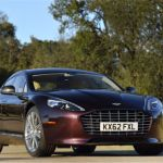 2015 Aston Martin Rapide S Amethyst Red