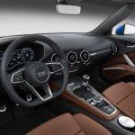 2015 Audi TTS Panther Black Interior