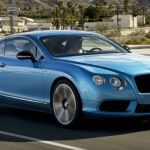 2015 Bentley Continental GT Blue