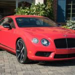 2015 Bentley Continental GTC Red